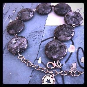 🖤quartz🖤labradorite bracelet STUNNING❤️